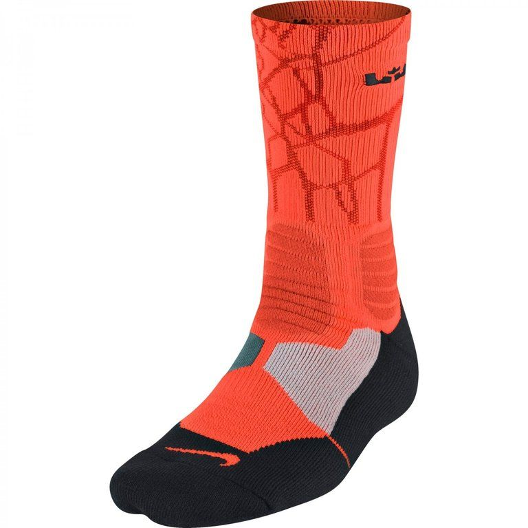 low priced ac16b 5227f Calcetines Nike Hyper Elite Lebron Dri-fit naranja  www.basketspirit.com Calcetines-Baloncesto