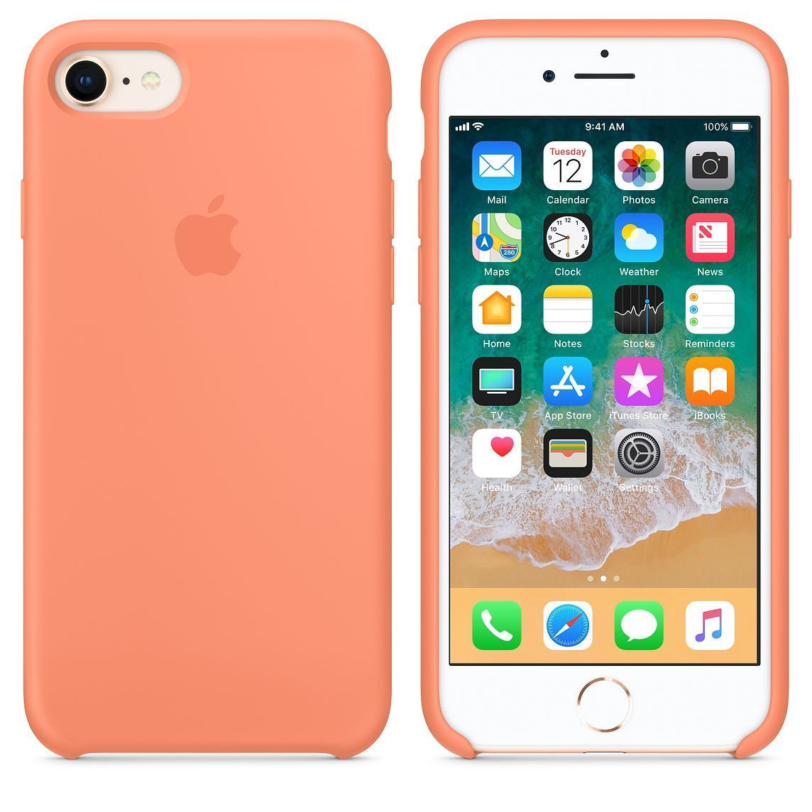 best service 1a29a 8f43c iPhone 8 / 7 Silicone Case - Pink Sand in 2019 | IPhone cases ...