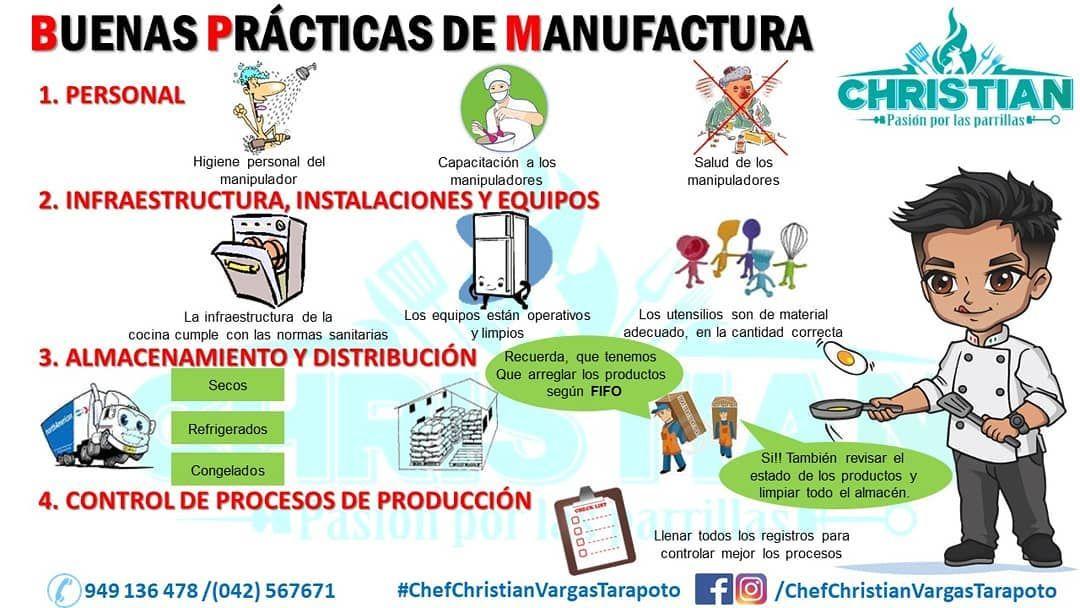 BUENAS PRÁCTICAS DE MANUFACTURA (#BPM) Son consejos de #CALIDAD e ...