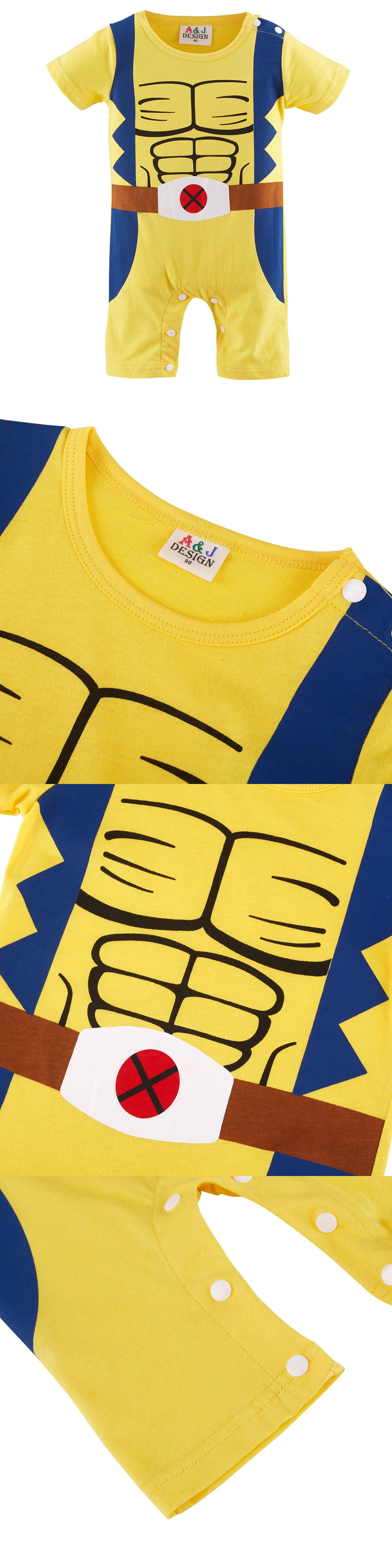 889fcc179de4 One-Pieces 57784  Baby Boy Wolverine Costume Romper Infant X-Men Playsuit  Newborn Outfits Gift -  BUY IT NOW ONLY   15.58 on  eBay  wolverine  costume  ...