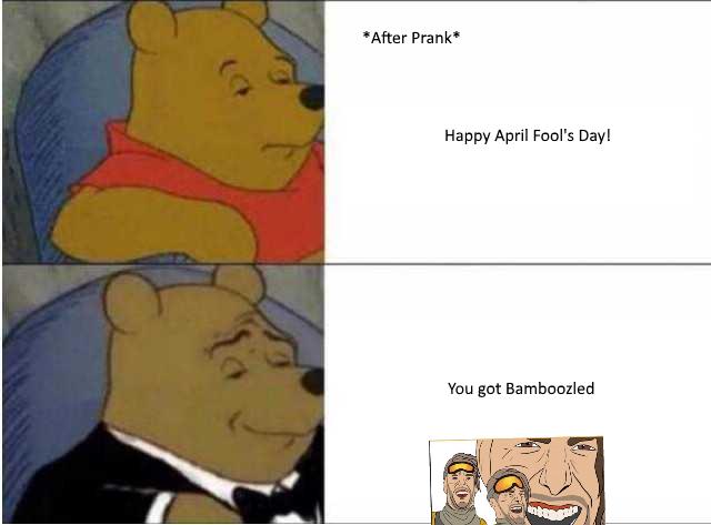 April Fools Gamer Gaming GamerMemes memes Winnie the