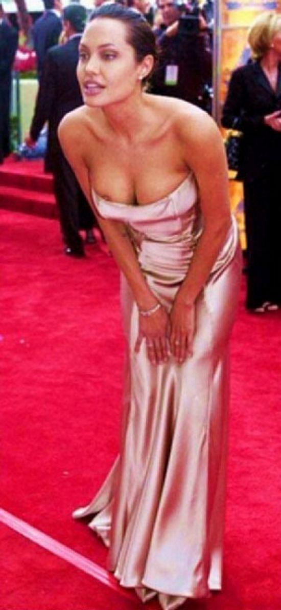 Angelina jolie bottom see thru