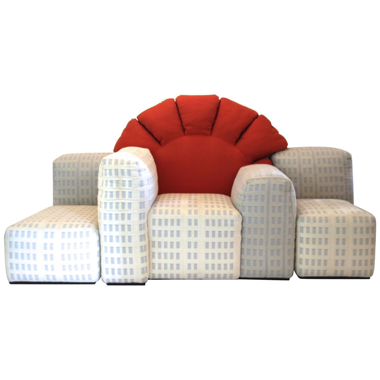 Gaetano Pesce New York Sunrise Sofa Produced By Cina Designed 1980