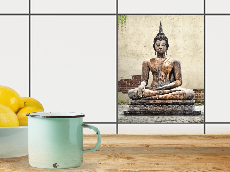 Relaxing Buddha Für Fliesen X Cm X Buddha - Fliesen 20 x 25