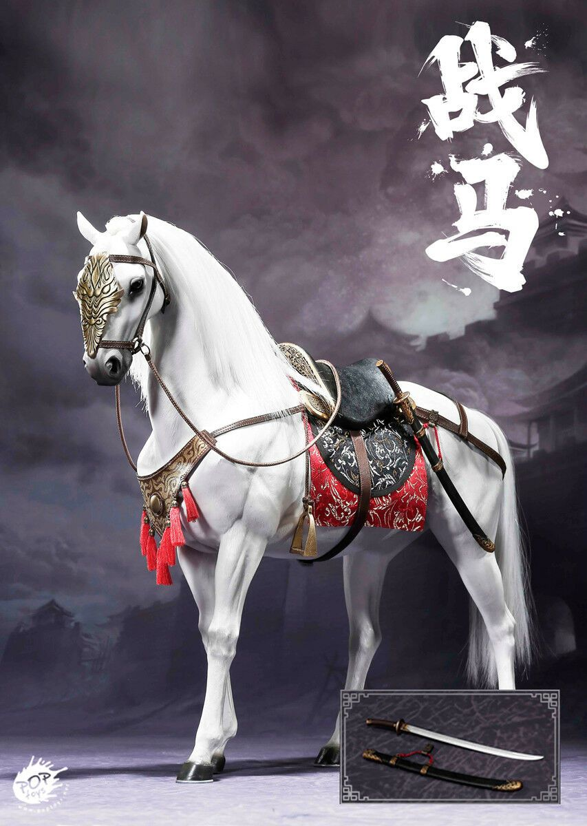 POPTOYS 1//6 EX020-B Heroine Mrs.Qi Battle Steed Collectible Figure War Horse NEW