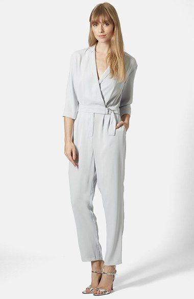 8d3c38b9f5a2 Topshop Wrap Jumpsuit available at  Nordstrom