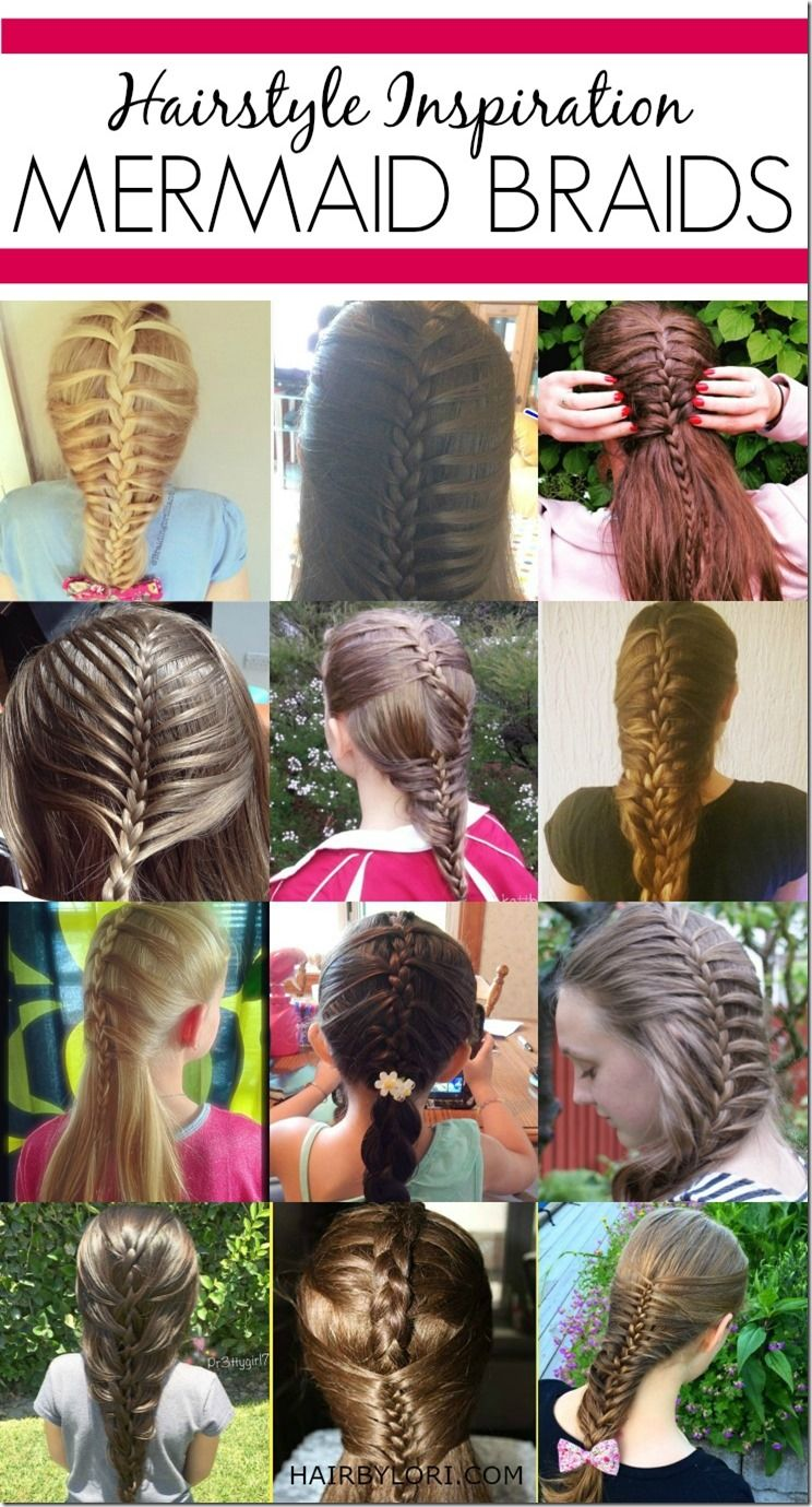 Day mermaid braid mermaid braid plait hairstyles and mermaid