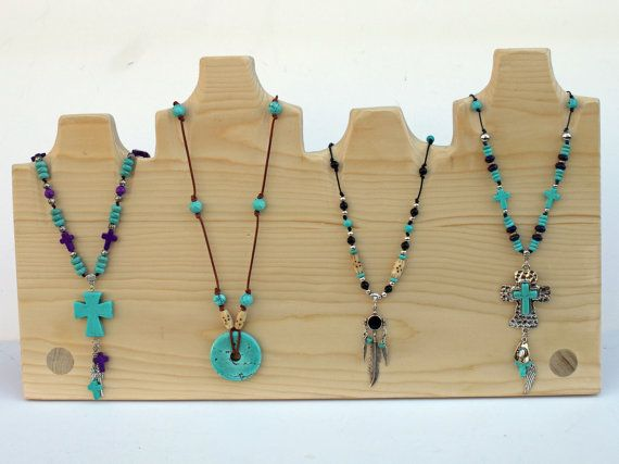 Multiple Necklace Display 18 Quot And Multiple Heights 4