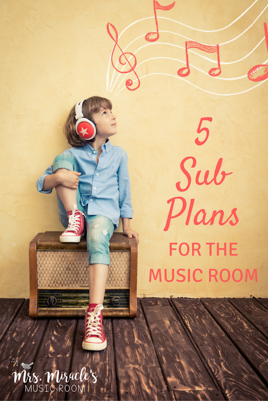 Five easy (and free!) sub plans for the music classroom -  5 easy (and free!) sub plans for the mus