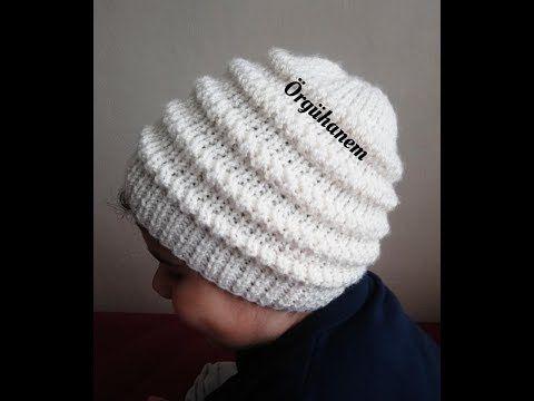 DALGALI ÇOCUK BERESİ (5-7 yaş) - YouTube #bonnets