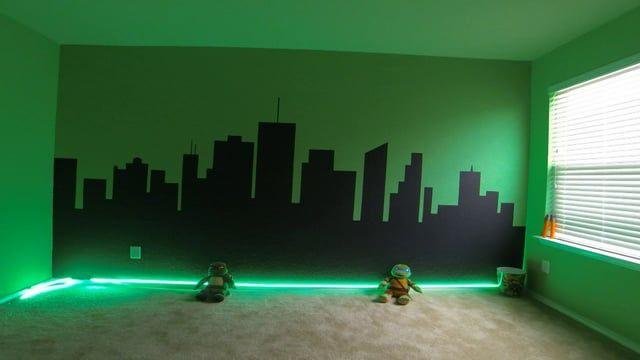 Ninja Turtles Bedroom Paint Ideas Google Search Turtle Room Ninja Turtle Bedroom Ninja Turtle Room