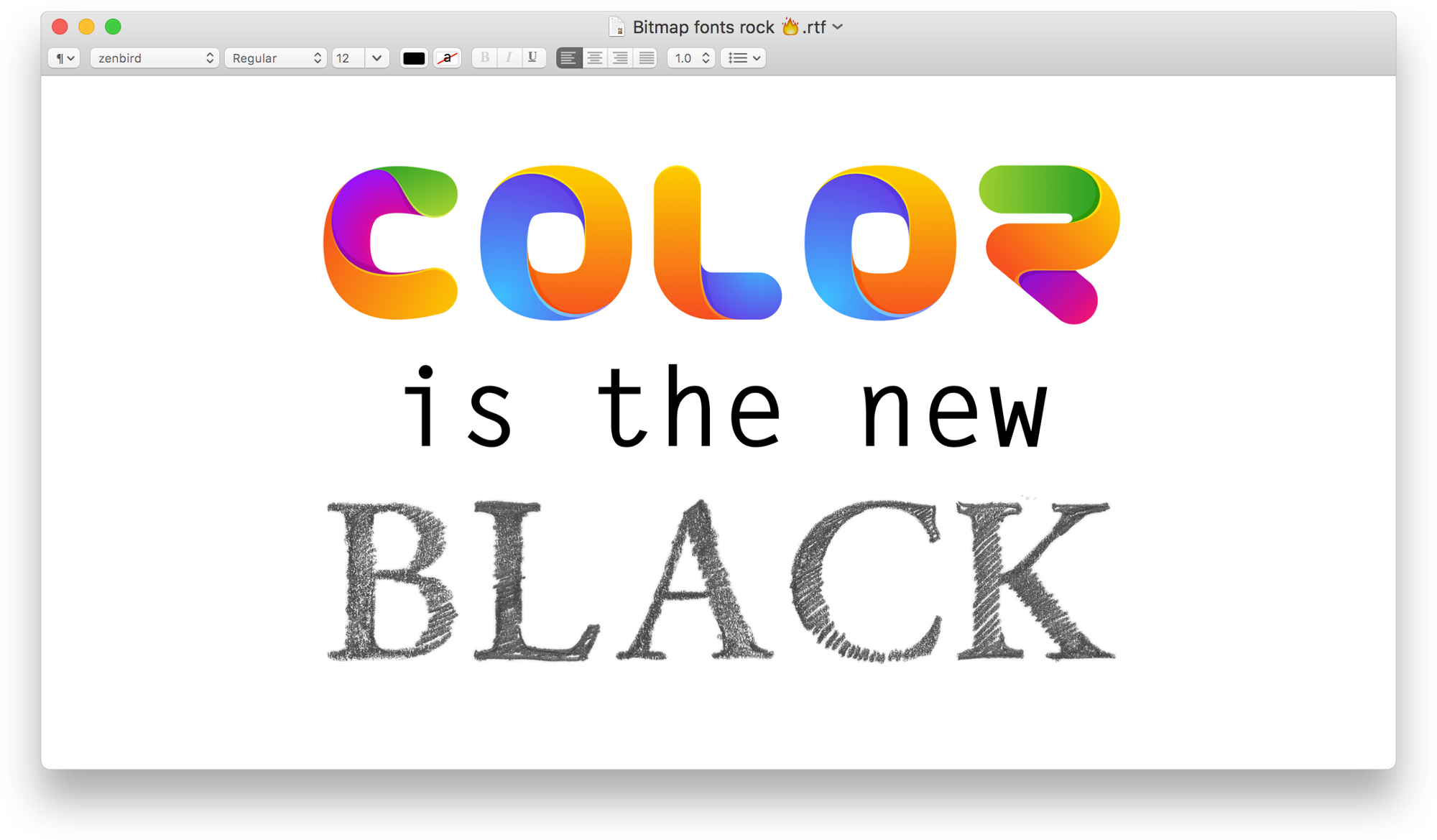 Learn Everything About Color Fonts Chromatic Typography And Opentype Svg Web Design Tools Typography Tool Design