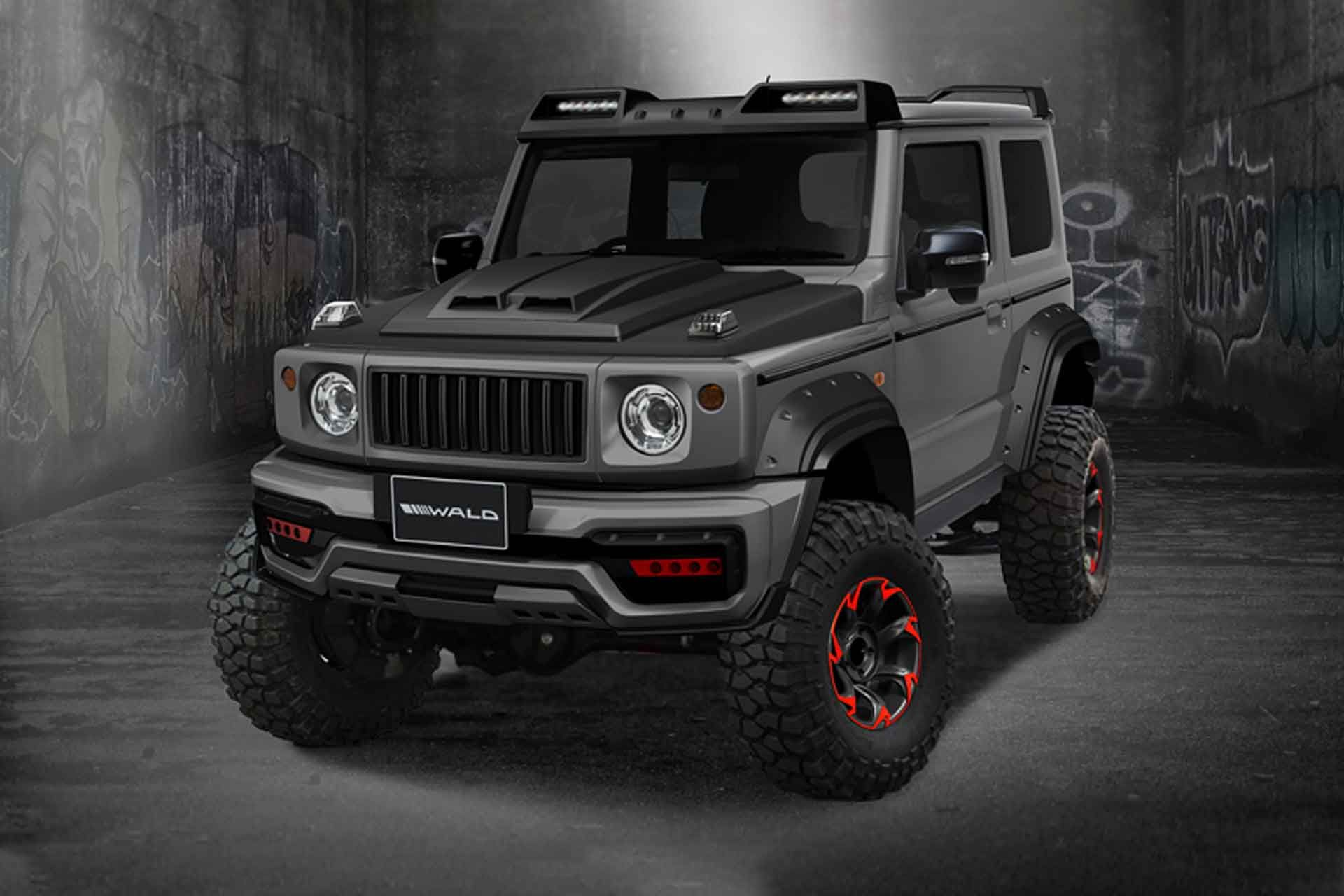The New Suzuki Jimny Has Become A Massive Hit Since The Fourth Generation Arrived In 2018 Custom Shops Hav Suzuki Jimny New Suzuki Jimny Suzuki Jimny Off Road