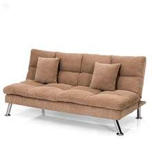 Royal Oak Milan Sofa Bed With Brown Upholstery
