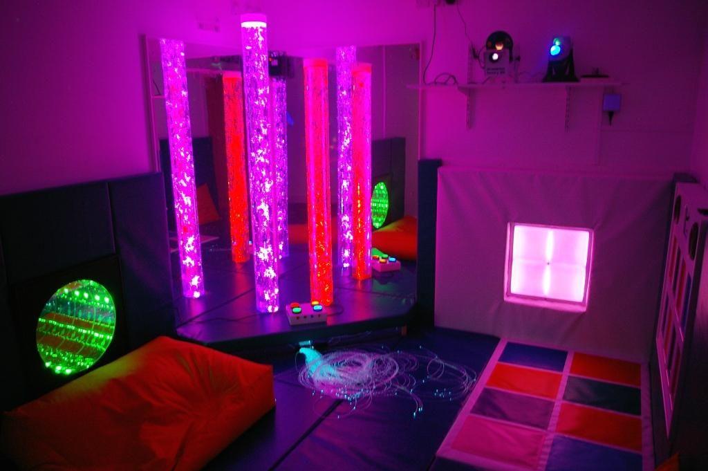 New Light Sensory Room Sensory Gym Sensory Rooms Baby