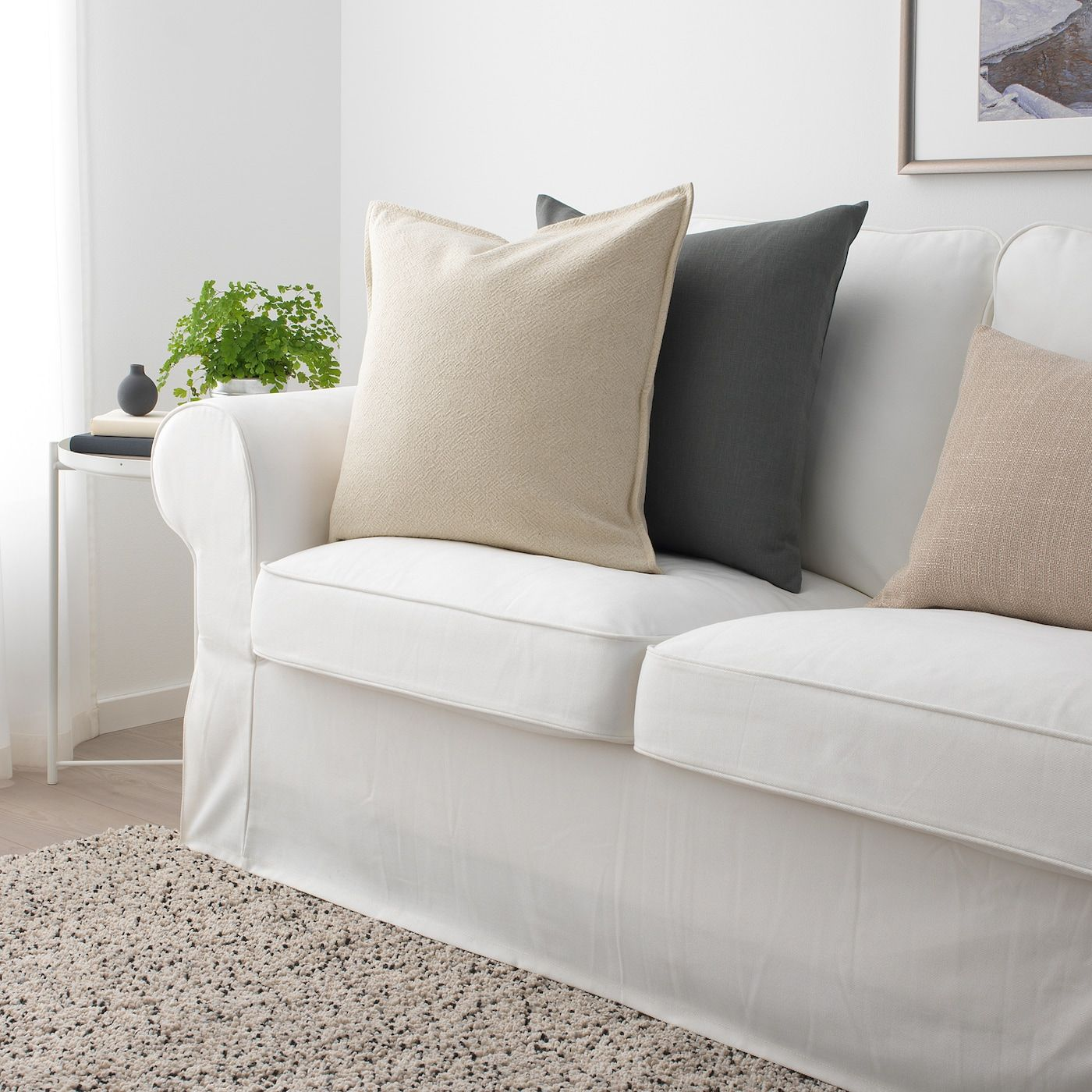 Kissenbezug Baumwolle Leinen Kissenbezug Dekorative Square Home Throw Sofa Yd