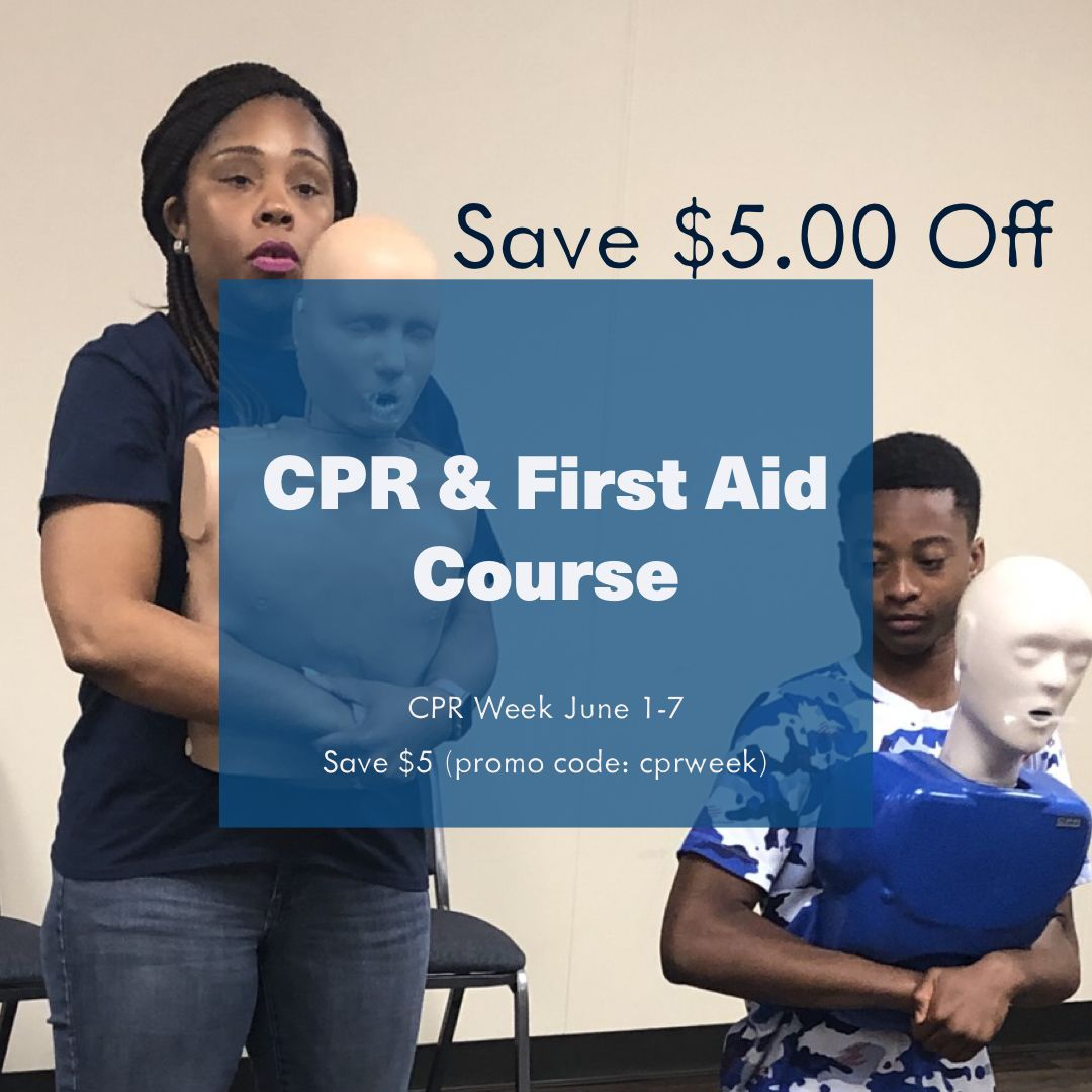 Cpr week june 17 save 5 off pediatric cpr first aid