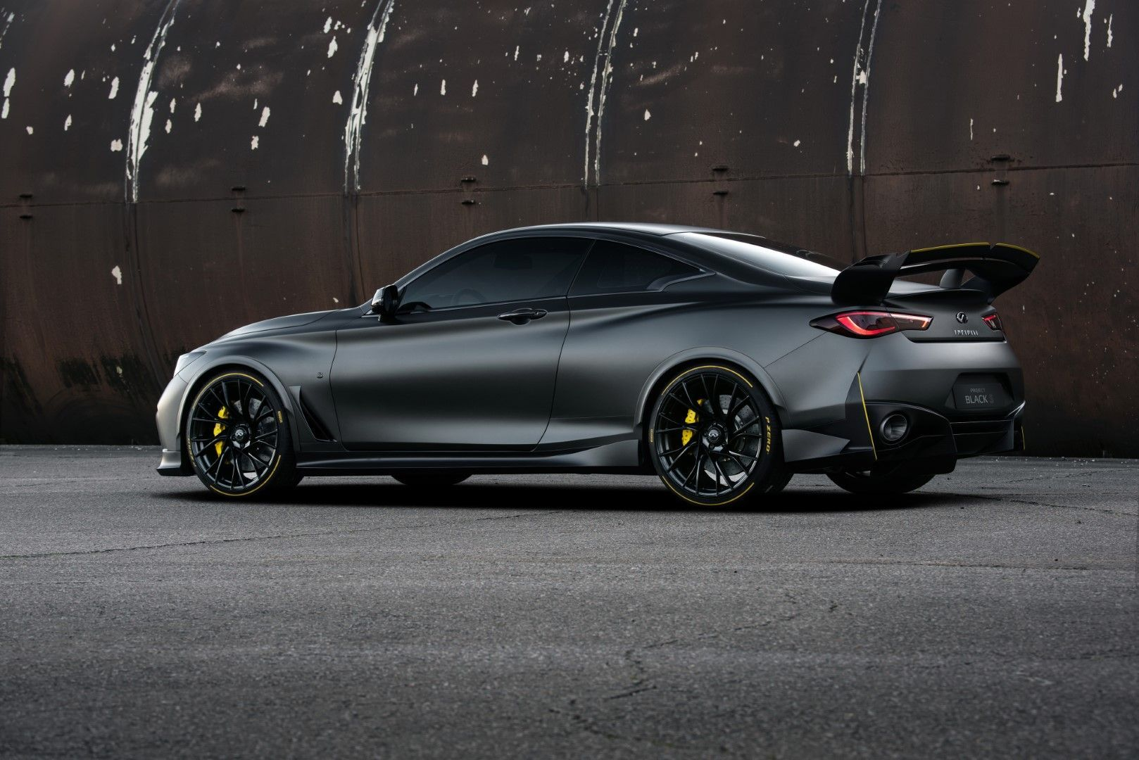 Infiniti Project Black S concept introduced at the 2018