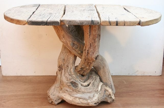 Furniture maker Julia Horberry handcrafts one-of-a-kind pieces out of pure  driftwood which she collects on the beach on the idyllic north coast of  Cornwall. - Furniture Maker Julia Horberry Handcrafts One-of-a-kind Pieces Out