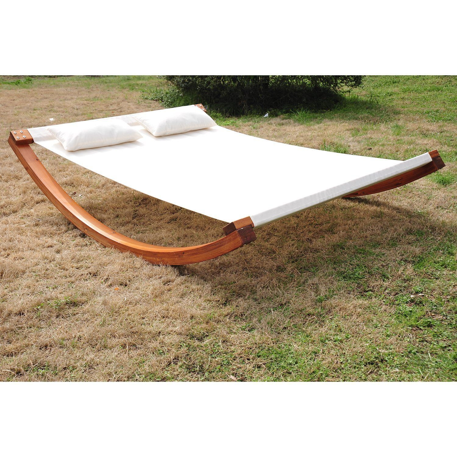 Outsunny Garden Day Swing Bed Sun Lounger Patio Furniture Hammock ...