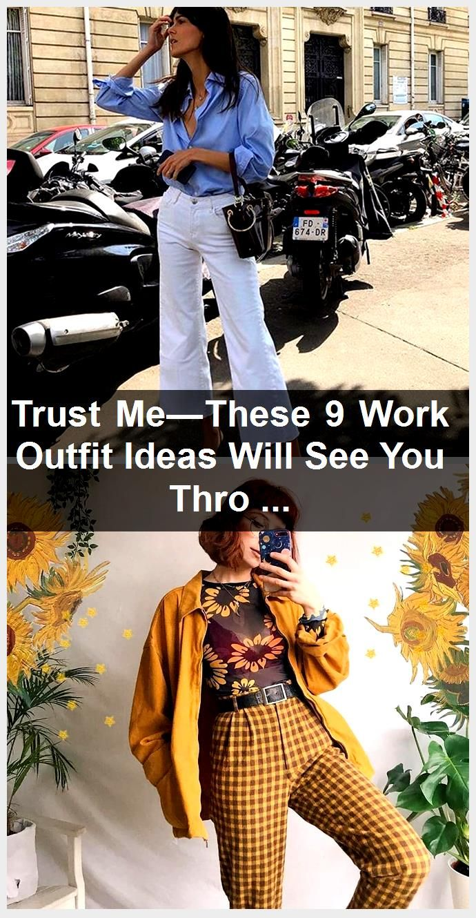 Trust Me—These 9 Work Outfit Ideas Will See You Through a Heatwave,  #Heatwave #ideas #MeThese #outfit #Trust #Work