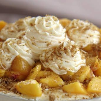 Peach Cobbler Pound Cake Recipe   Yummly #peachcobblerpoundcake