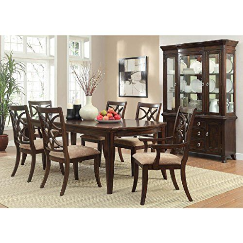 Kara Piece Inch Dining Set In Cherry Table Https - 68 inch dining table