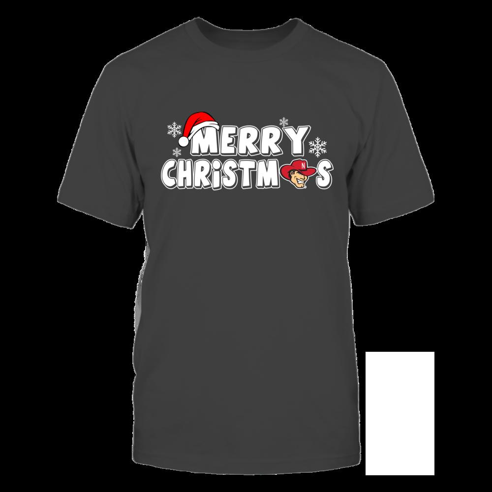 Nebraska Cornhuskers Christmas Merry Christmas Logo