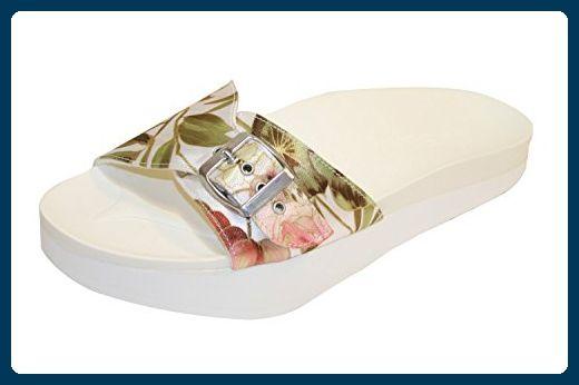 9b8bfd3b540c1 Beautystep Aktiv Fitness Sandale Gr. 39 weiß glänzend ...