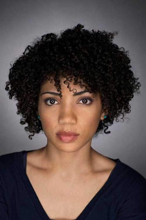 Natural Short Hair Cut for African American Women.. Straw Curls or ...