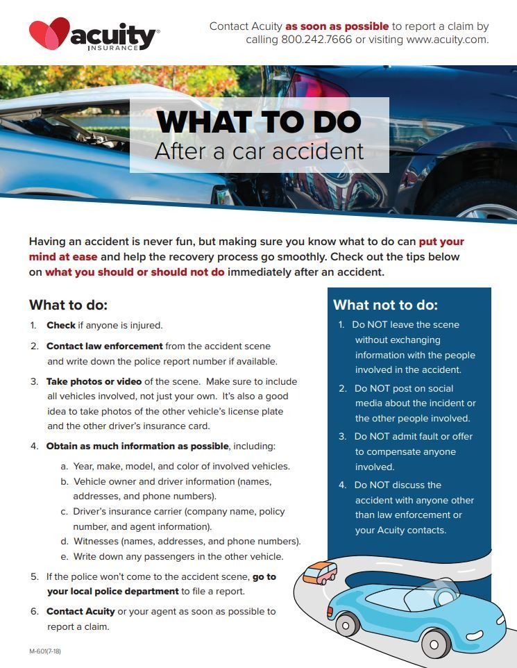 Important Steps To Take After An Accident Wednesdaywisdom