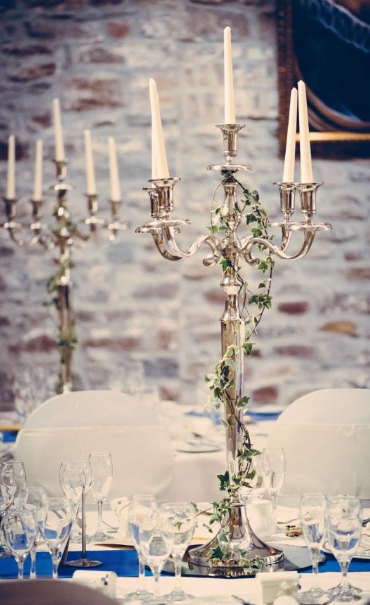 My Favourite Thing About The Whole Wedding Decor Our Candelabra Centrepieces
