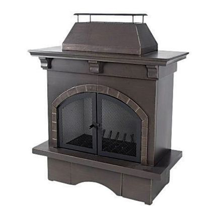 Like This Too Living Accents Outdoor Fireplace Ace Hardware Outdoor Wood Burning Fireplace Backyard Fireplace Outdoor Fireplace Kits