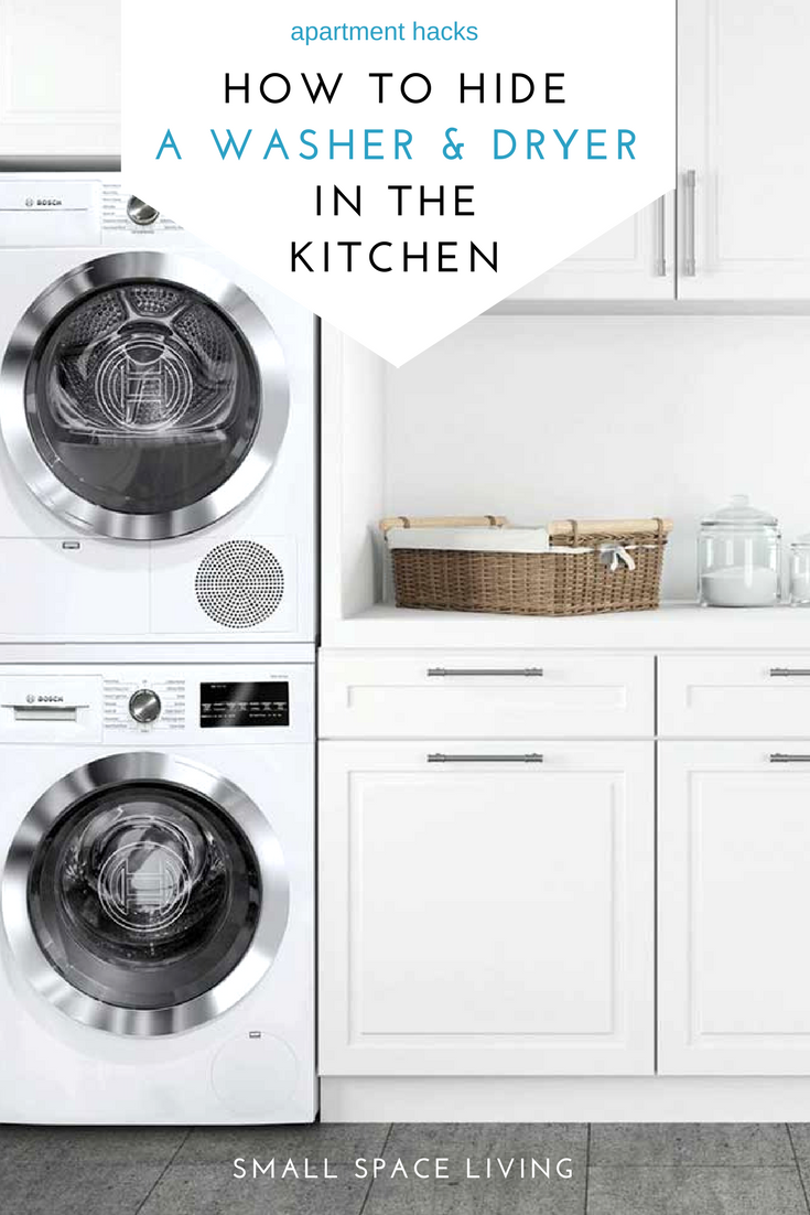 How We Installed a Washer Dryer in the Kitchen (NYC ...