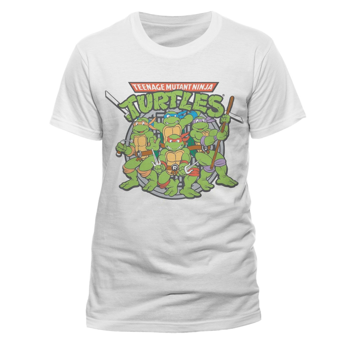 5ab89162232 Discover ideas about White T Shirts. Teenage Mutant Ninja Turtles ...