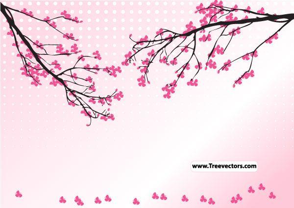 Blossom Tree Vector Cherry Blossom Images Blossom Trees Cherry Blossom Vector
