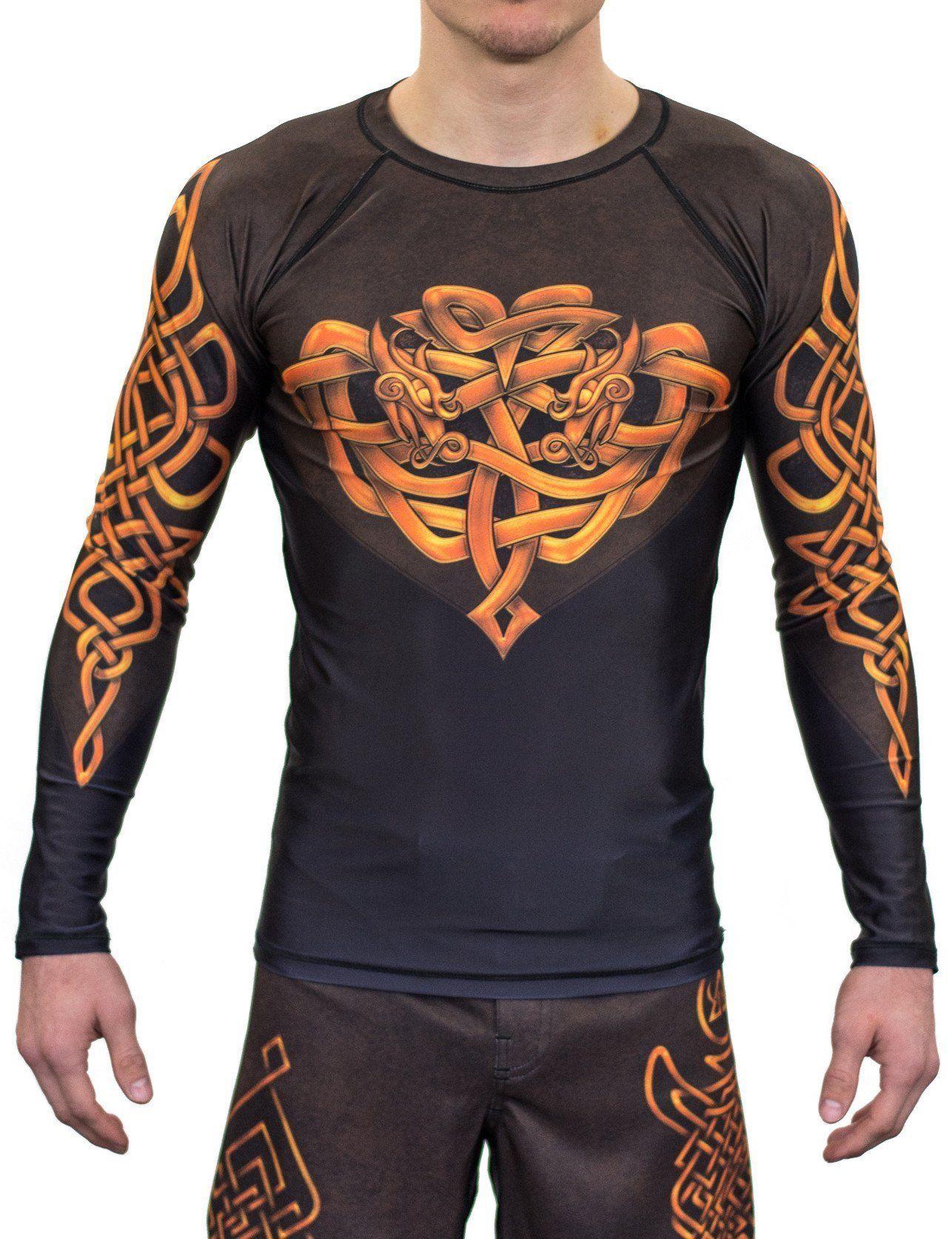 Viking Tribal Short Sleeve Rashguard