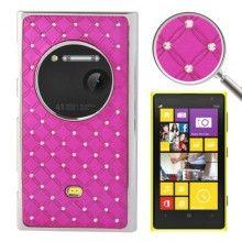 Cover Nokia Lumia 1020 Hard Case Diamantes Fucsia € 6,99