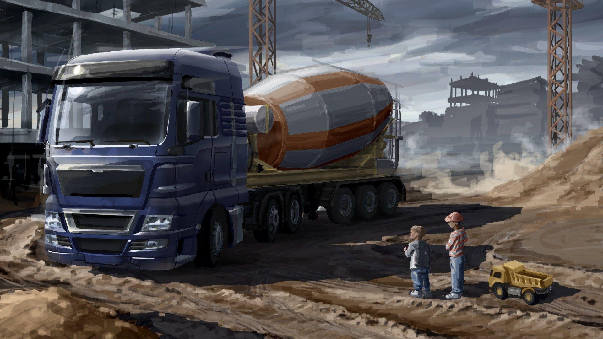Images For Desktop Euro Truck Simulator 2 Wallpaper 311 Kb Halbert Birds Kamyonetler Oyunlar Euro
