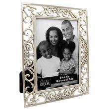 "Antique White Vine Frame by Studio Decor® Expressions™, 5"" x 7"""