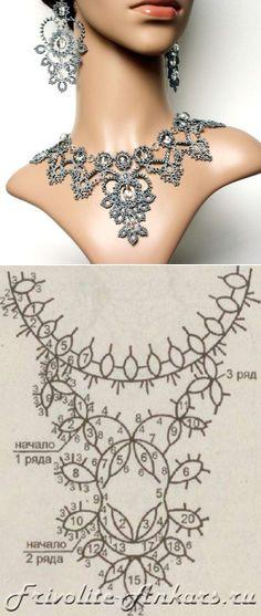 Вязание: Фриволите #tatting