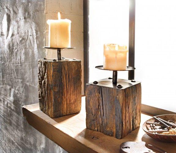 deko mit baumstamm google suche holzdeko holz kerzenhalter und baum. Black Bedroom Furniture Sets. Home Design Ideas