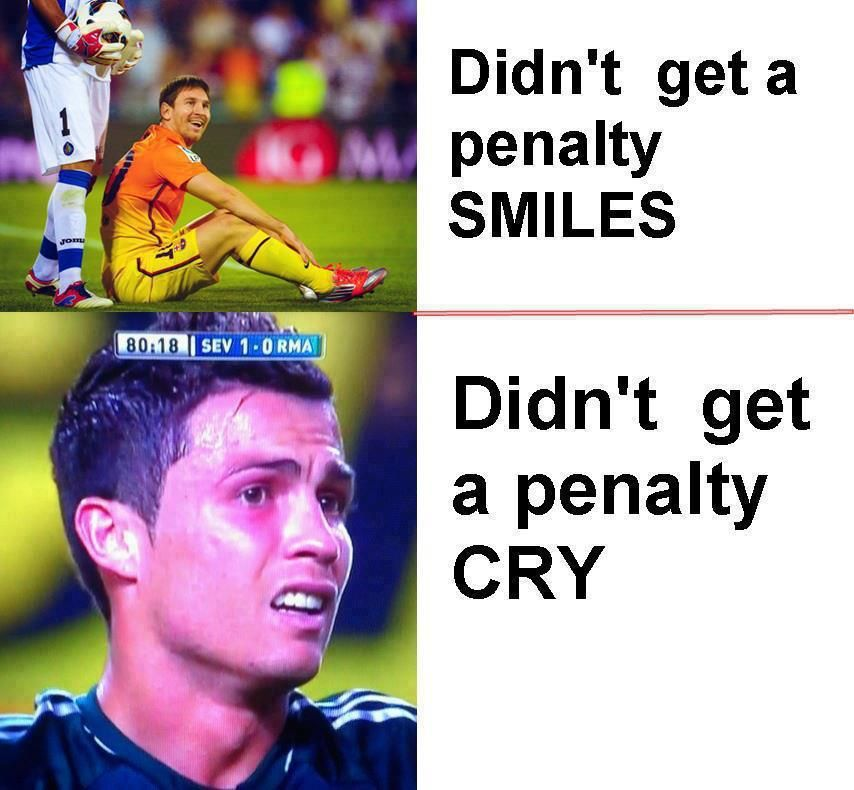 Funny Messi Vs Ronaldo Google Search Soccer Funny Soccer Jokes Messi Vs Ronaldo