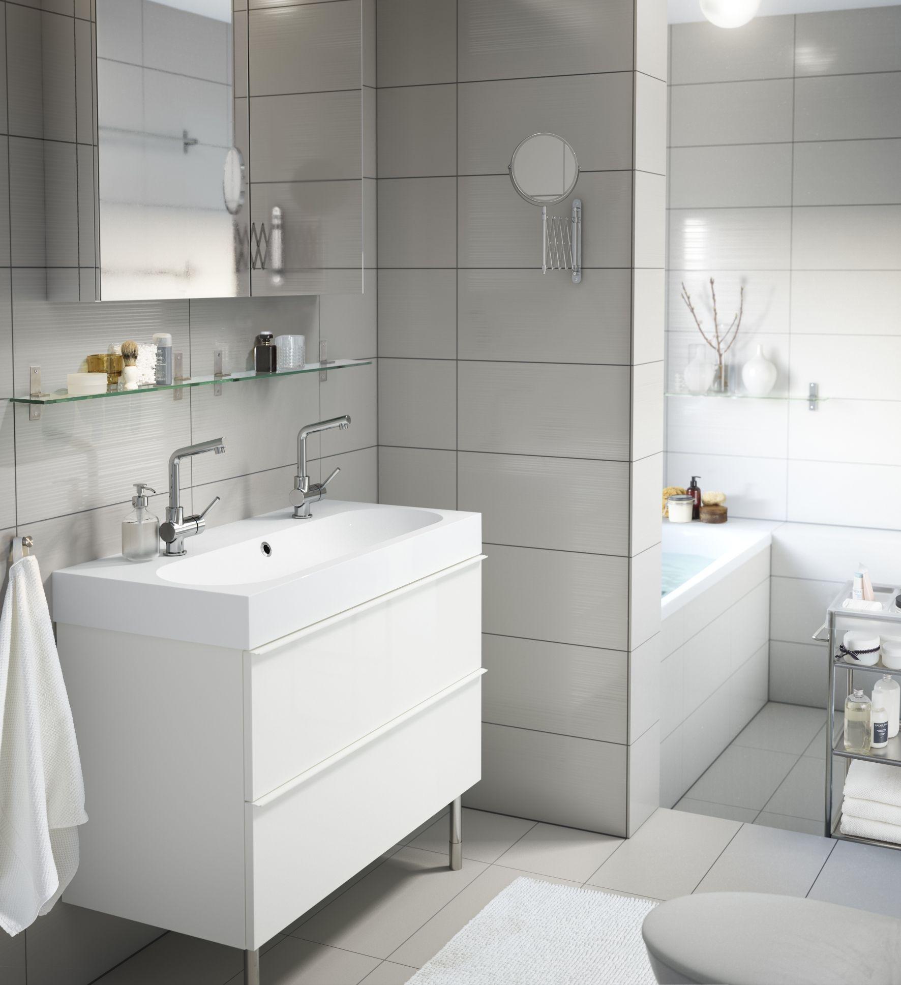 GODMORGON wastafelkast | #IKEA #badkamer #opberger | Decoración ...