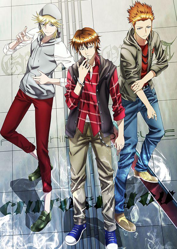 Tags: Anime, GoHands, K Project, Eric Sutr, Fujishima Kosuke, Chitose You