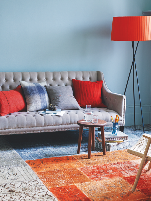 Rooms Gallery Cool Ways With Carpet Life Style Etc Blue And Orange Living Room Living Room Orange Blue Living Room
