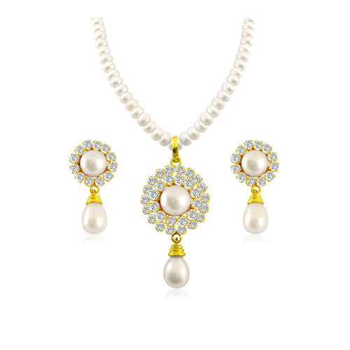 Please Visit For More Jewellery Products At Www Saivachan Com Pearl Necklace Set Pearl Jewelry Online Pearl Jewelry