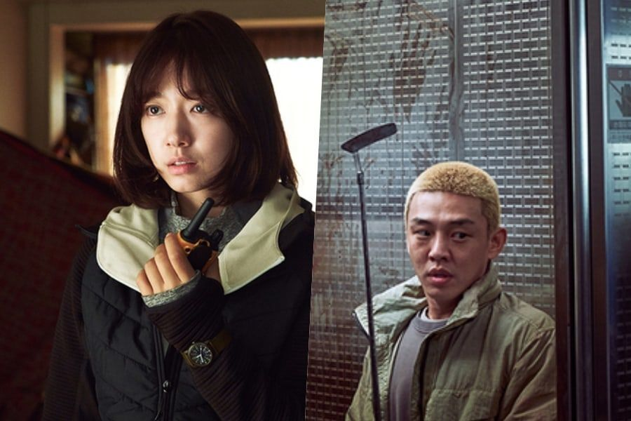 "Park Shin Hye + Yoo Ah In Hide From Zombies In Suspenseful Sneak Peek Of ""#ALIVE"""