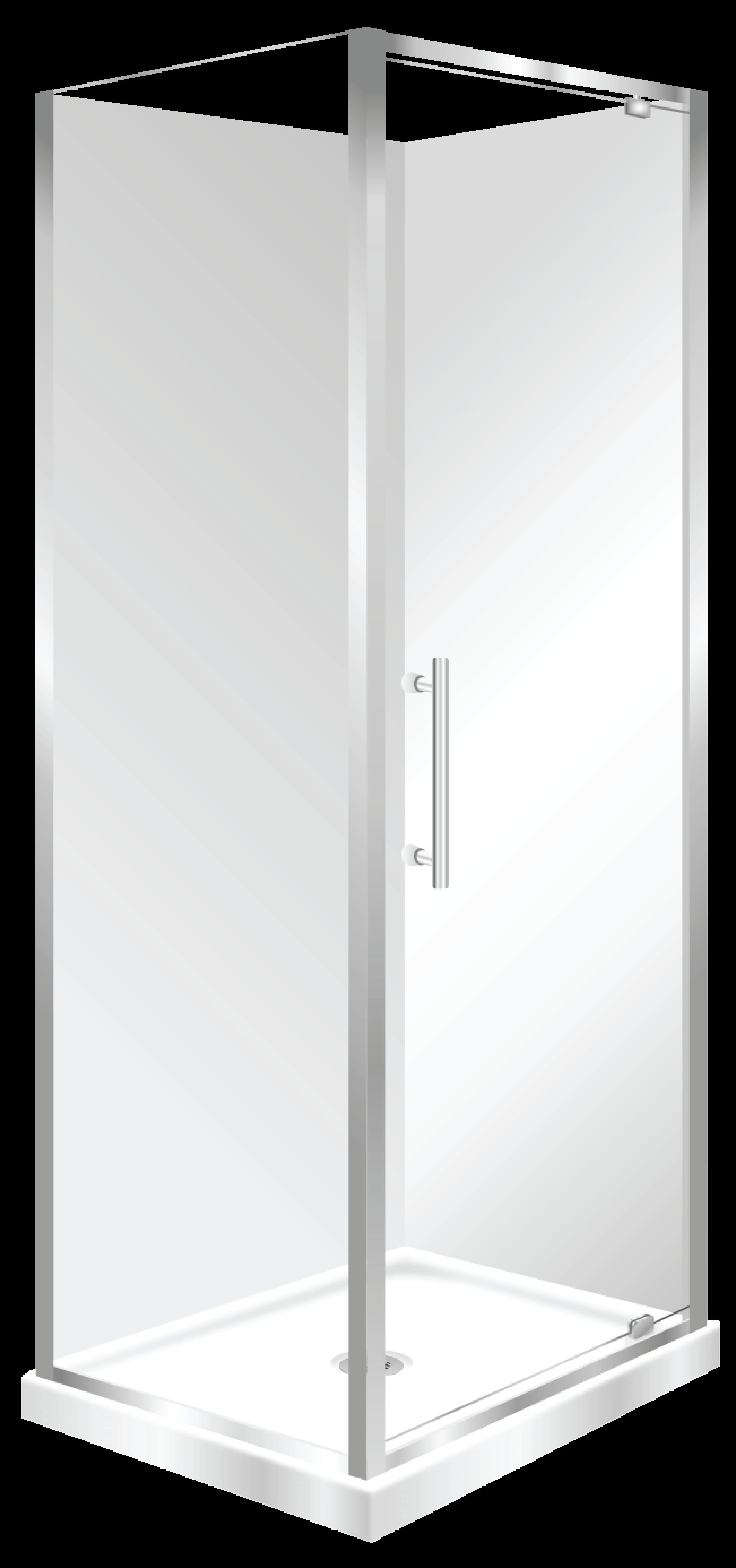 Aquero Corner 900 760 F W R H Shower Pivot Door Silva In 2020 Pivot Doors Safety Glass Stacker Doors