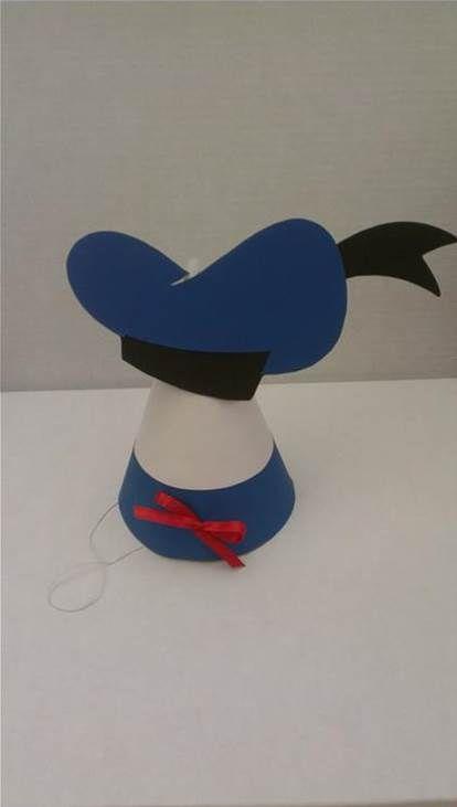Resultado De Imagen Donald Duck Hat Template Printable